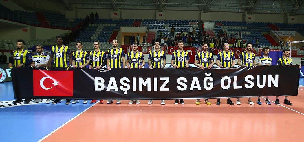 Fenerbahçe Hdi Sigorta pankart