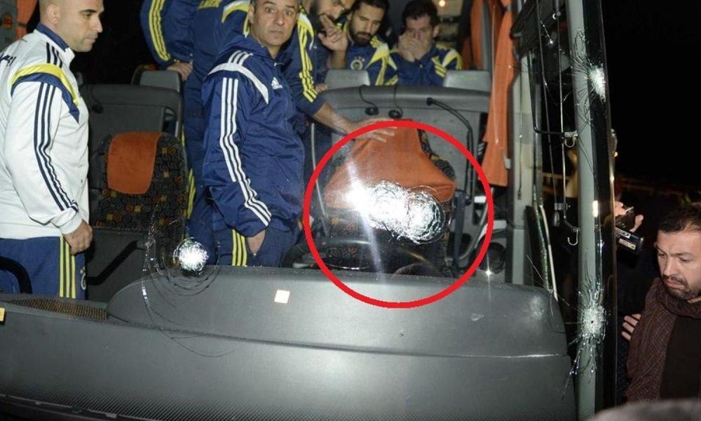 Fenerbahçe Otobüsü Kurşunlanma