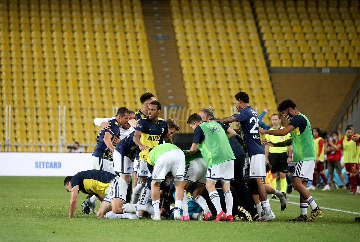 Fenerbahçe Kayserispor sevinç