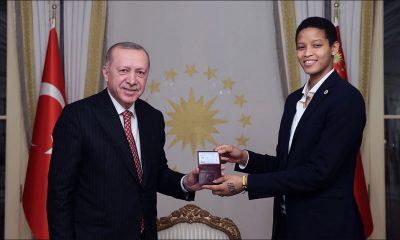 Melissa Vargas Recep Tayyip Erdoğan