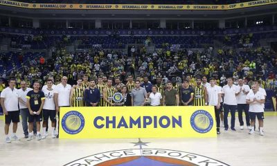 Istanball Cup'ta şampiyon Fenerbahçe Beko Erkek Basketbol Takımımız oldu